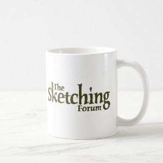The Sketching Forum Logo Coffee Mugs