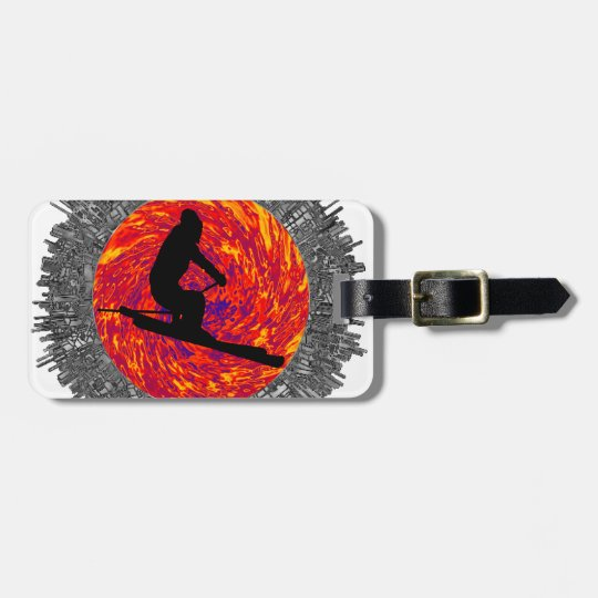 THE SKI DREAMER LUGGAGE TAG