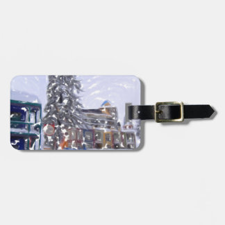 The Ski Lodge5 Luggage Tag