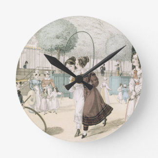 The Skipping Game, plate 115 from 'Le Bon Genre', Wallclock