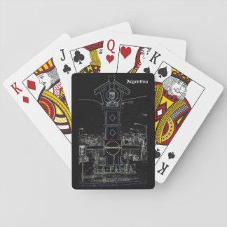 The Skirt (Dark design) Playing Cards