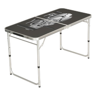 The Skull Beer Pong Table