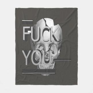 The Skull Fleece Blanket