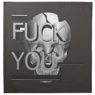 The Skull Napkin