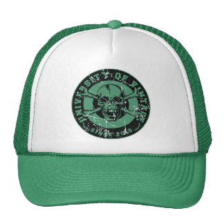 The Skull of University Vintage Trucker Hat