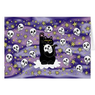 The Skulls Are Lucky Tonight Card