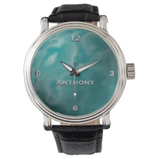 The Sky Clouds Monogram Watch