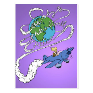 the sky is the limit alice.jpg postcard