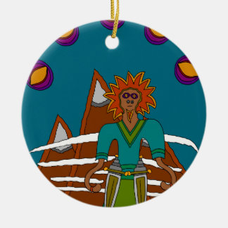 The Sky Walker Ceramic Ornament