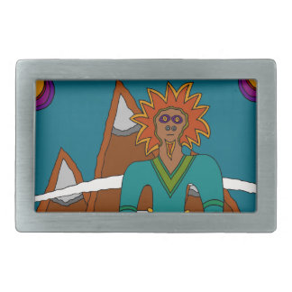 The Sky Walker Rectangular Belt Buckle