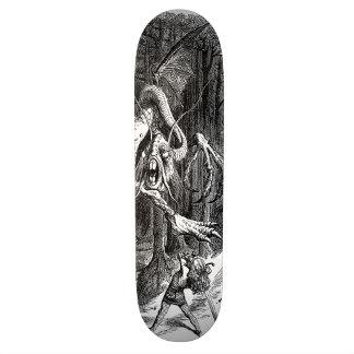 The Slaying of The Jabberwock Skateboard Deck
