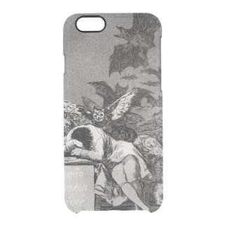 The Sleep of Reason Produces Monsters Clear iPhone 6/6S Case