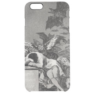 The Sleep of Reason Produces Monsters Clear iPhone 6 Plus Case