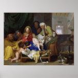 The Sleeping Christ, 1655 Poster
