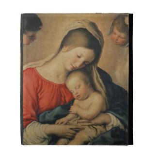 The Sleeping Christ Child (oil on canvas) iPad Folio Cases
