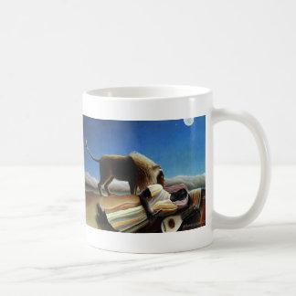 The Sleeping Gypsy Basic White Mug