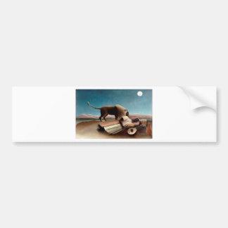 The Sleeping Gypsy Bumper Sticker