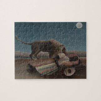 The Sleeping Gypsy by Henri Rousseau Jigsaw Puzzle