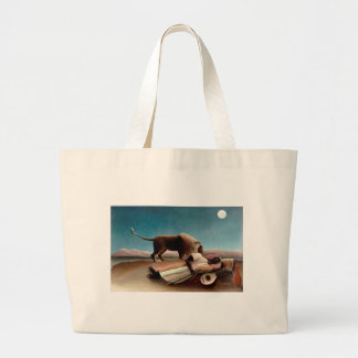 The Sleeping Gypsy Large Tote Bag