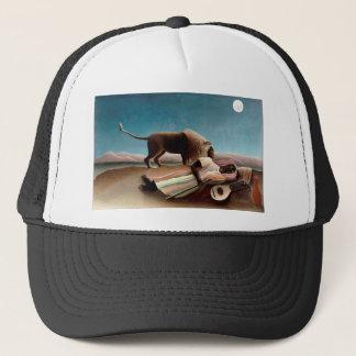 The Sleeping Gypsy Trucker Hat