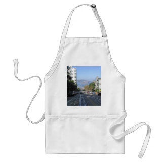 The sloping streets of San Francisco Apron