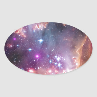 The Small Magellanic Cloud Oval Sticker