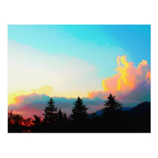 The Smoky Mountains Sunset Postcard