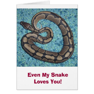 The Snake Company Card - Love