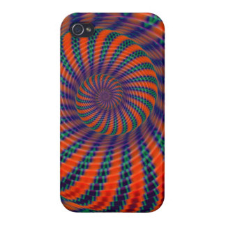 The Snake Spiral, artistic abstract iPhone 4/4S Covers