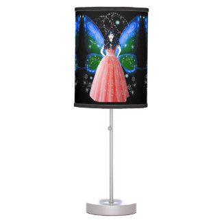 The Snow Fairy Table Lamps