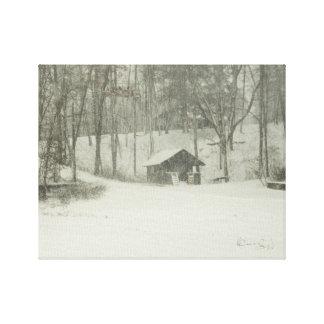 The Snow House Canvas Print