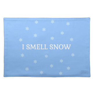 The Snow Lover Placemat