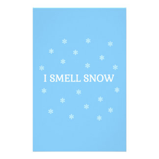 The Snow Lover Stationery