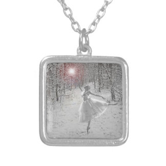The Snow Queen Silver Plated Necklace