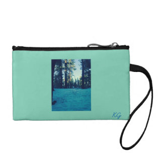The snow wilderness coin wallet