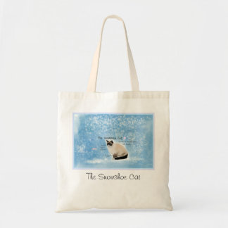 The Snowshoe Cat Bag