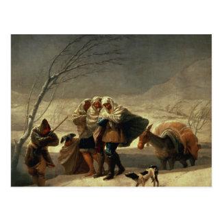 The Snowstorm, 1786-87 Postcard