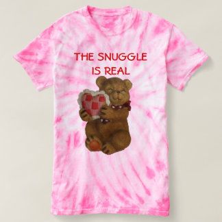 The Snuggle is Real Teddy Bear T-shirt