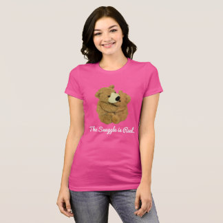 The Snuggle is Real Tee. T-Shirt