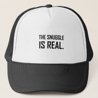 The Snuggle Is Real Trucker Hat