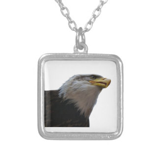 THE SOARING FREEDOM SILVER PLATED NECKLACE