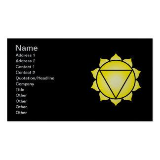 The Solar Plexus Chakra Pack Of Standard Business Cards