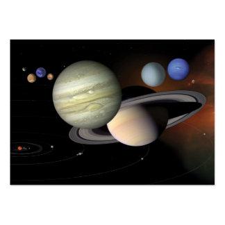 """The Solar System"" 2012 Pocket Calendar Large Business Card"