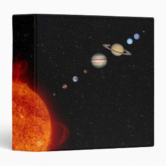 The Solar System 2 Vinyl Binders