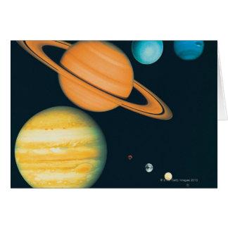 The Solar System Card