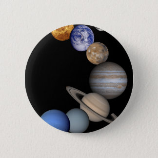 The solar system range our planets 2 inch round button