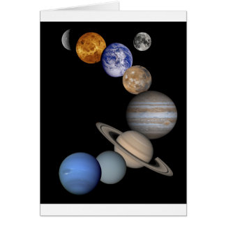 The solar system range our planets card
