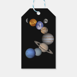 The solar system range our planets gift tags