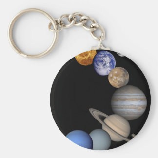 The solar system range our planets keychain