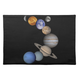 The solar system range our planets placemat